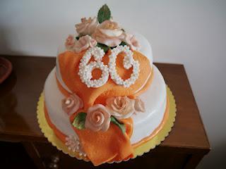 Torta Arancio Compleanno Della Mia Mamma Paperblog