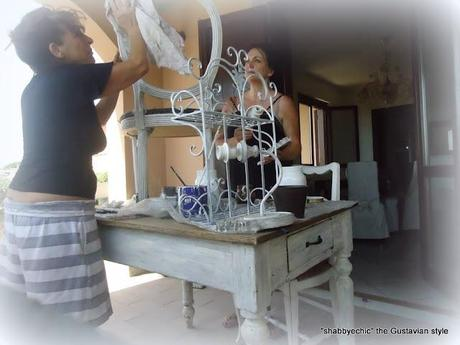 Corso d' Arte della decorazione a Patina... seconda parte 1 giorno