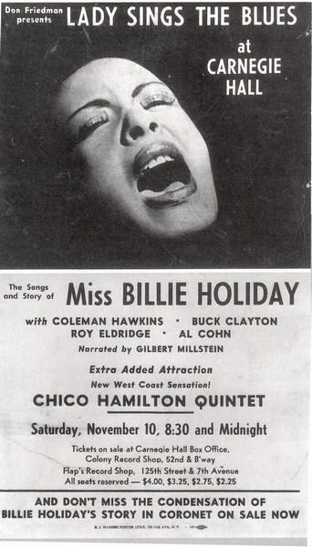 Ricordo di Billie Holiday: Songs for Distingué Lovers (1957)