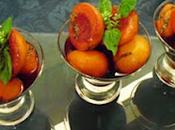 Albicocche speziate vino