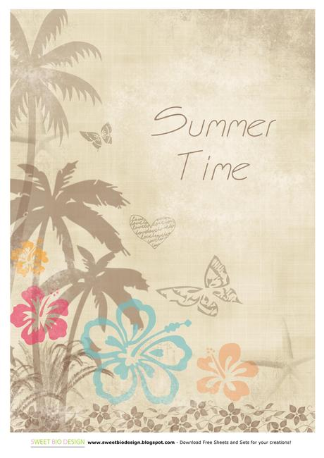 Carte Sweet Tropical Summer Paper Set L FEOjMr Jpeg