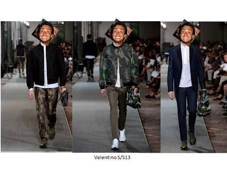 My choices of men's spring/summer 2013