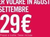 Volotea: 3.000 voli euro agosto settembre!