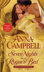 R: Seven Nights in a Rogue's Bed di Anna Campbell