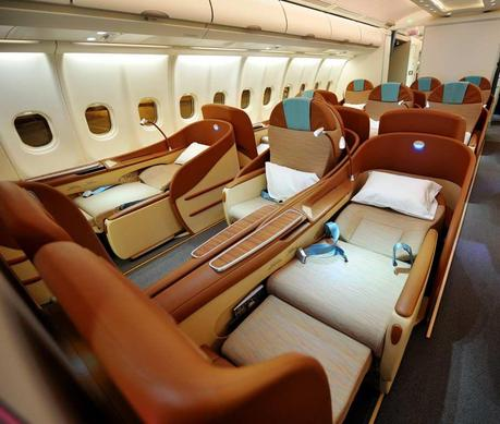 La migliore business class è di Oman Air