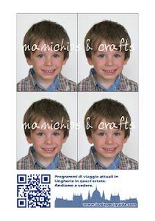 Fototessera fai da te per carta d'identità e passaporto