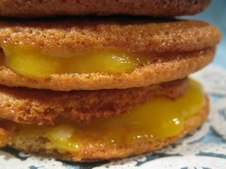 Whoopie pie al lemon curd