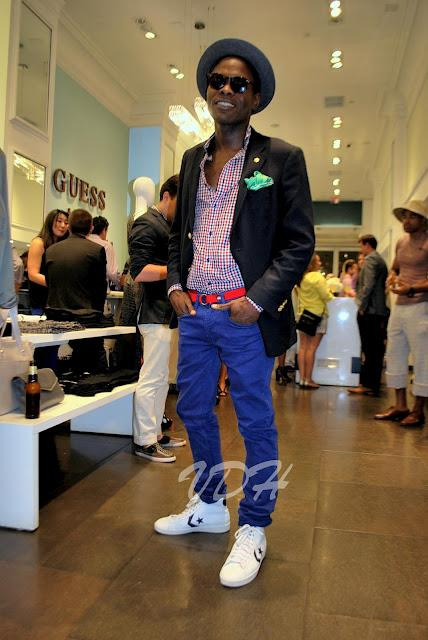 Marciano Menswear Launch Party with GQ Magazine
