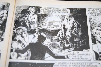 Dietro lo specchio fumetto con protagonista il prof tolkien 1998 paperblog - Alice dietro lo specchio ...