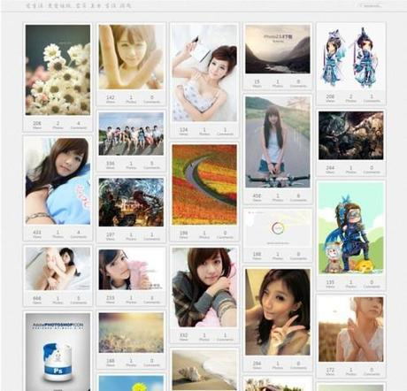 20 templates in stile Pinterest per piattaforma Wordpress