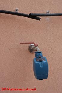 Come installare un impianto di irrigazione a goccia for Programmatore di irrigazione