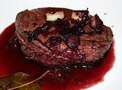 Medaglione filetto vino rosso scalogo