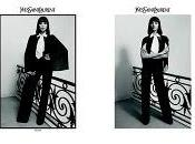 Yves Saint Laurent Fall 2010 Complete Campaign with Daria Werbowy Inez Lamsweerde Vinoodh Matadin