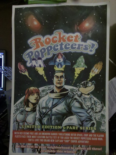 Viral point: il poster dei Rocket Poppeteers