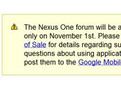 Android Forum ufficiale Nexus sola lettura Novembre, arrivo Two!