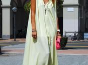 Yellow pinko long dress