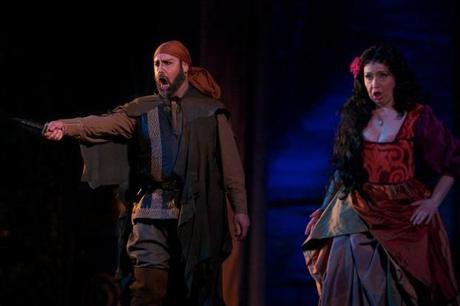una immagine di Sparafucile Enrico Giuseppe Iori e Maddalena Chiara Chialli 620x413 su Giuseppe Verdi e Rigoletto: Tornando a Casa