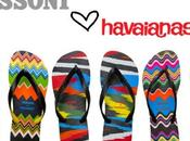 Missoni havaianas. Amore prima vista Love first sight