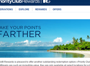 Priority Club PointBreaks Notti hotel gratis soli 5000 punti