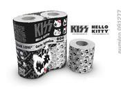 peggio fine: carta igienica griffata Kiss Hello Kitty