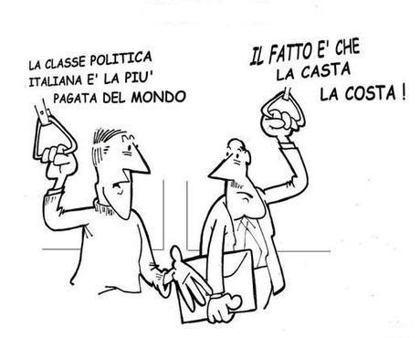 Dove c'è casta c'è Italia…