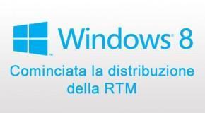 Windows 8 - Cominciata la distribuzione della RTM