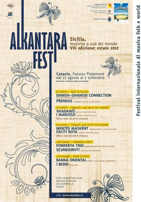 una immagine di Locandina Alkantara Fest 2012 620x886 su Alkantara Fest 2012: Radici Folk