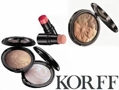 Linea make-up primavera-estate Korff Vie Fleurie