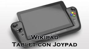Wikipad - Tablet con joypad