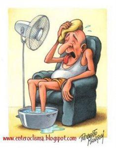 Pressione bassa a causa di caldo e afa: cosa fare?