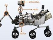 Curiosity atterrato Marte