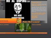 Anonymous hackera sito Schwazer, ecco messaggio lui!