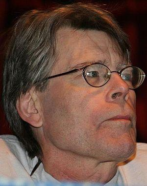 Stephen King, American author best known for h...