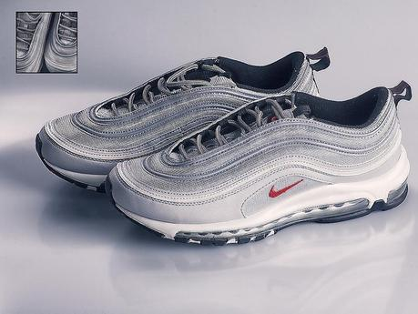 silver nike scarpe