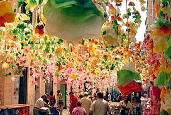 Festa di gr cia a barcellona paperblog for Quartiere gracia barcellona