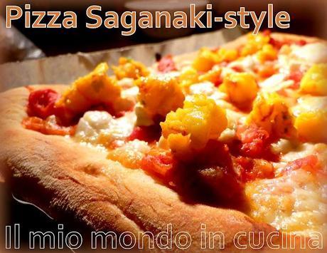 Pizza saganaki style un tocco di grecia sulla pizza for Pizzeria il tocco