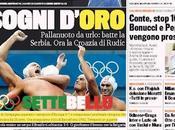 Prime pagine giornali: sabato agosto 2012