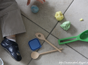 Pasta pane colorata altre attività coloranti alimentari Three indoor toddler activities with food colouring