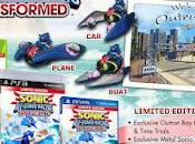Sonic Stars Racing Transformed annunciata Limited Edition