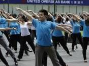 Dance Flash Singapore lancio prodotto proteggere pelle sole