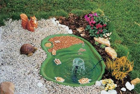 Come creare un laghetto nel proprio giardino paperblog for Vasca pvc laghetto