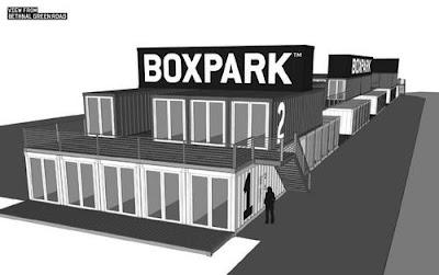 Boxpark Shoreditch _ London