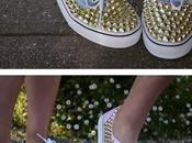 DIY: Yourself Sneakers Borchiate