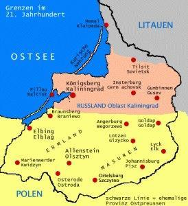 RUSSIA: Kaliningrad verso l'Europa. Libera circolazione nella Prussia orientale