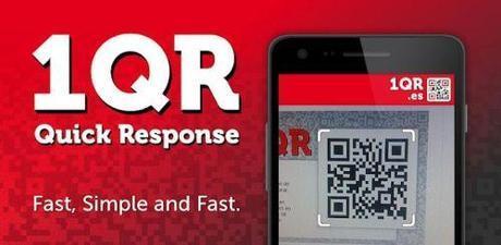 1QR - un veloce lettore di codici QR per terminali Android