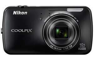Nikon Coolpix S800c con Android.