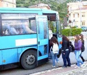 Terrasini, trasporto alunni pendolari anno scolastico 2012-2013