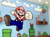 spettacolare murales Super Mario