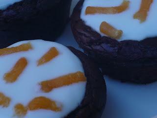 Cupcakes con la fossetta.