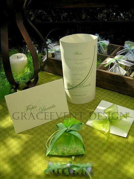 Matrimonio Tema Verde : Tema verde per un matrimonio green ed eco chic paper